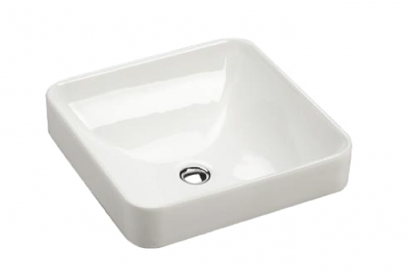 KOHLER FOREFRONT rectangular counter top basin