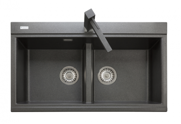 TELMA Kinga  2-bowl granite sink 860mm