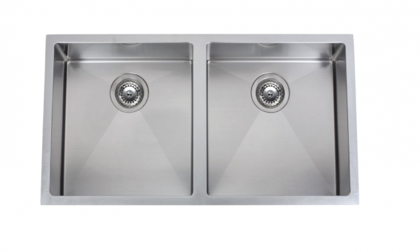 Franke Planar undermount double bowl sink