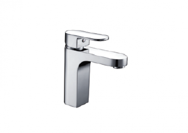 H+M Essen Deck-mount basin mixer