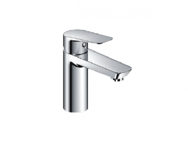 H+M Mainz Deck-mount basin mixer