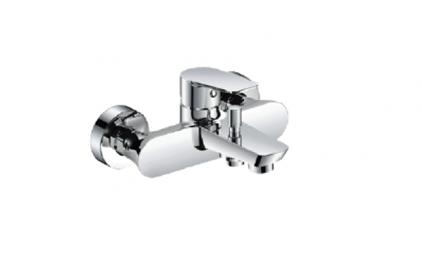 H+M Mainz Exposed bath/shower mixer