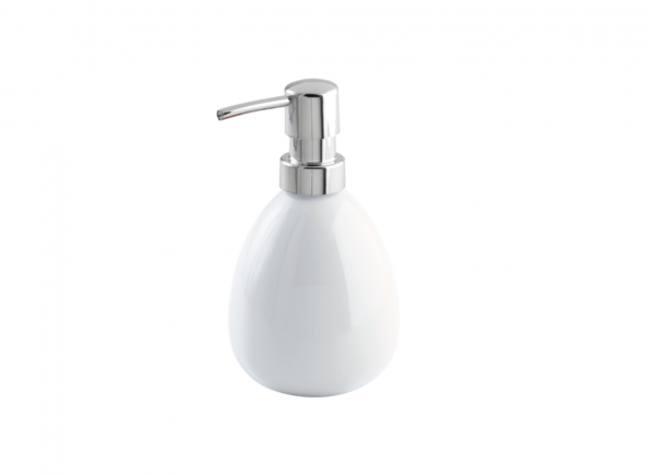 Wenko Polaris white Ceramic Soap dispenser