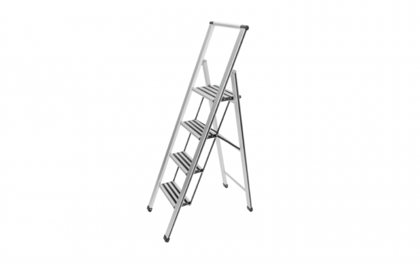 Wenko Stepladder, 4-steps