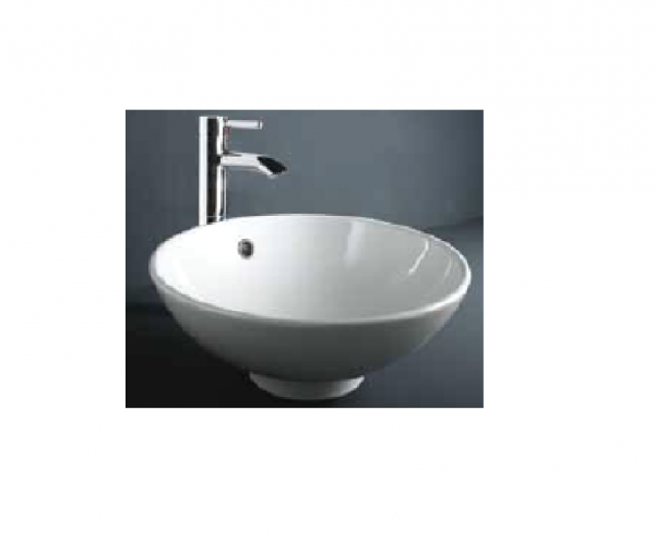 Rak Ceramics Diana countertop basin with overflow