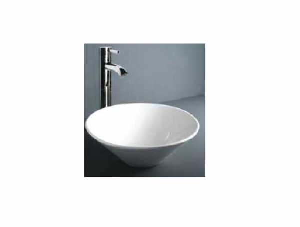 Rak Ceramics Daisy countertop basin without overflow