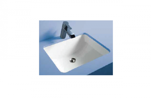 Rak Ceramics Metropolitan semi-recessed basin with