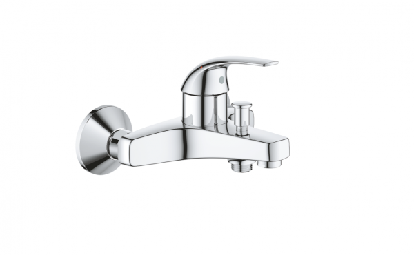 Grohe Baucurve Single-lever bath mixer 1/2″