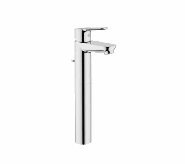 Grohe BauEdge Single-lever high-rise basin mixer