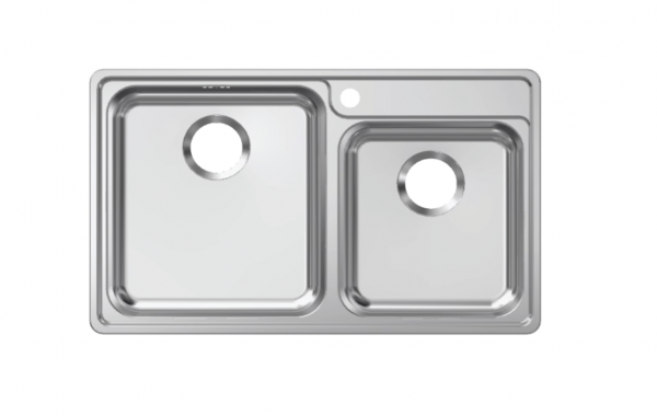 Franke Bell Drop-in double bowl sink