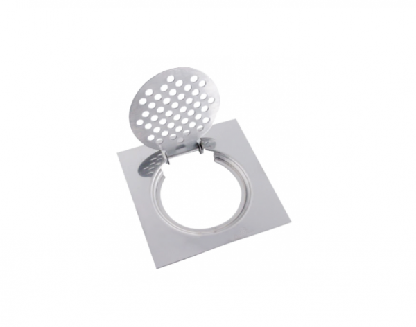 Showy 6″ x 6″ adaptable stainless steel grating
