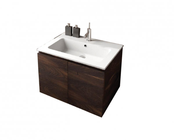 Puntotre TIME series 2-door basin furniture 60cm