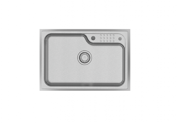 KOHLER Aleo Single top-mount/undermount sink