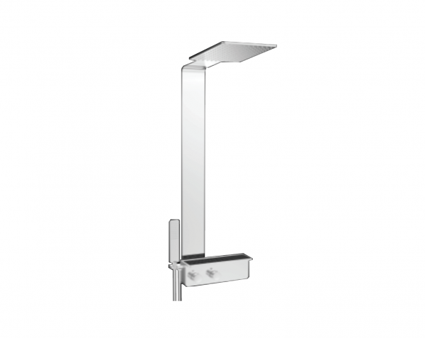 H+M Linear shower column with shower mixer