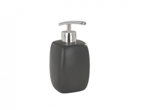 Wenko Faro black Ceramic Soap dispenser