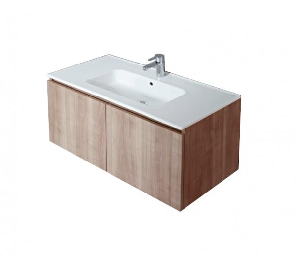 Sanitana COOL wall-hung cabinet basin set