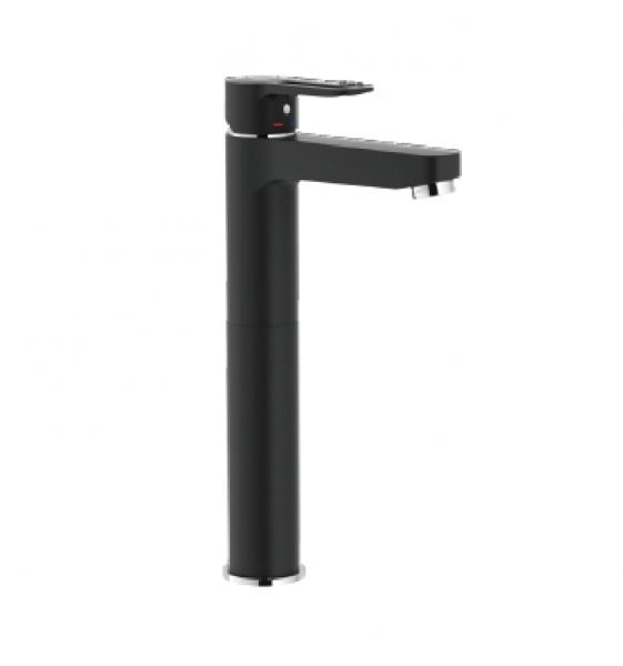Nobili Single lever basin mixer, high version body