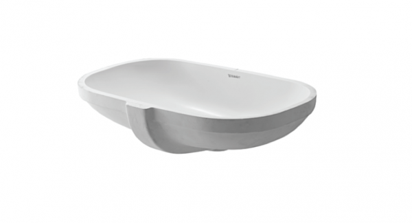 Duravit D-code undercounter basin with overflow